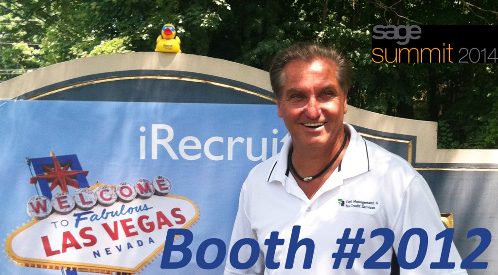 Brian Kelly CMS iRecruit attends Sage Summit
