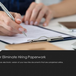 Reduce Hiring Paperwork