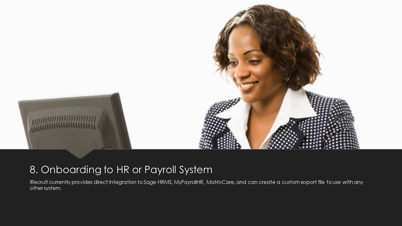 Onboarding to HR or Payroll