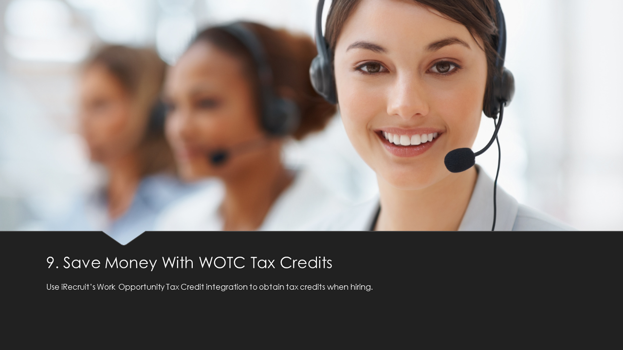 Save Money with WOTC Credits