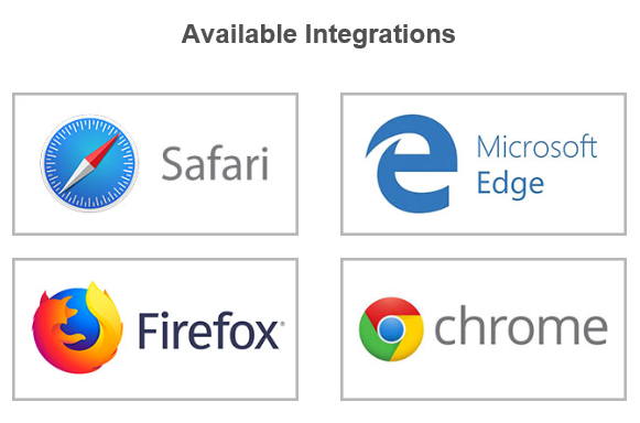 Verified First Browser Integrations
