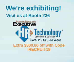 iRecruit WOTC at HR Technology Conference 2018