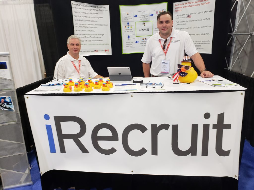 David and Sean at HR Technology Conference