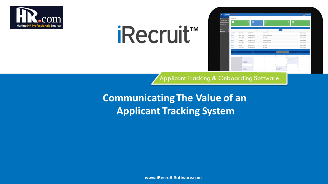 The Value of an Applicant Tracking System