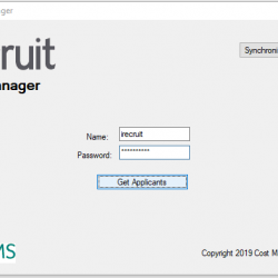 iRecruit Data Manager for Sage HRMS