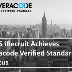 iRecruit Veracode Verified Standard Status