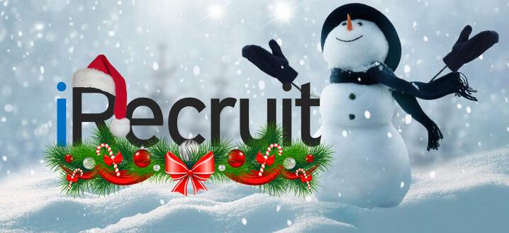 iRecruit Snowman Banner