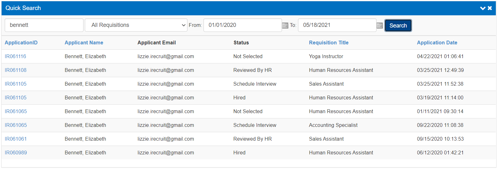 Quick-Search-for-Individual-Applicant