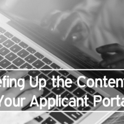 Beefing Up the Content on Your iRecruit Applicant Portal